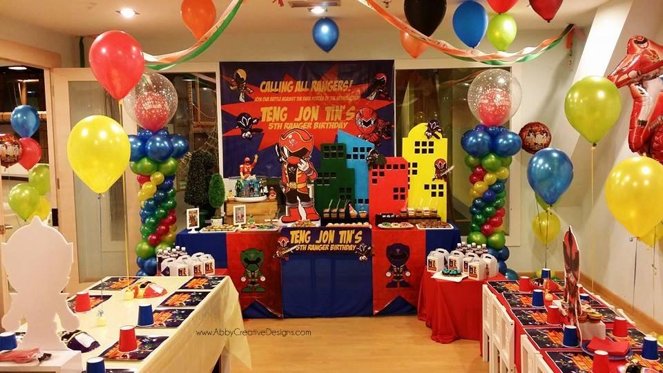 Festa Dos Power Rangers