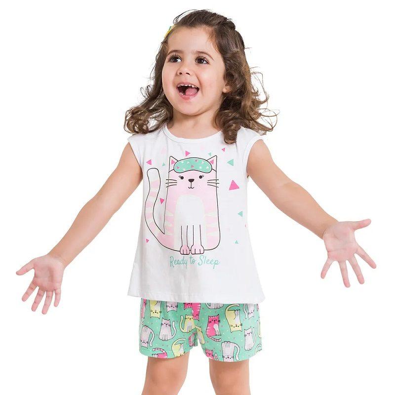 Hora de dormir _ pijama kylly menina