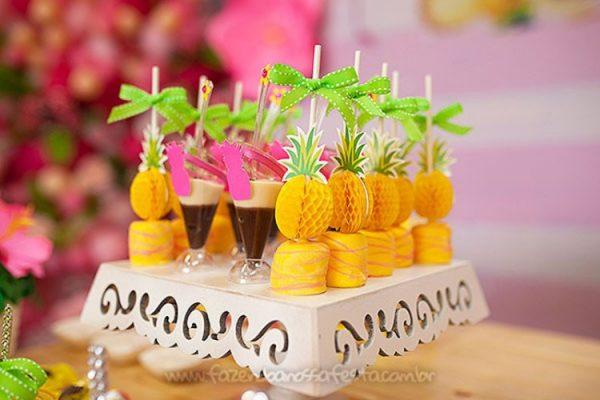 doces de abacaxi para festa