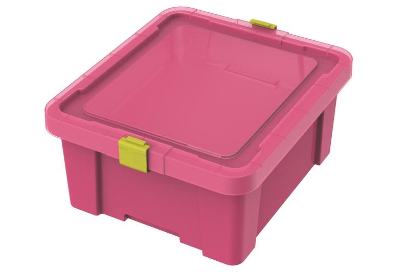 Caixa Organizadora Tramontina Rosa