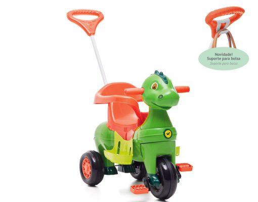 Brinquedos de passeio calesita dinossauro
