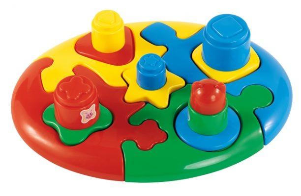 Duo baby puzzle brinquedo calesita