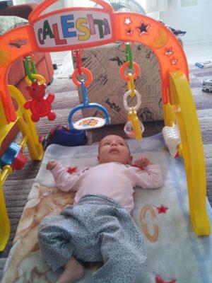 Baby Gym - direitos autorais da foto reservados ao blog mamae & Cia - proibida reprodução