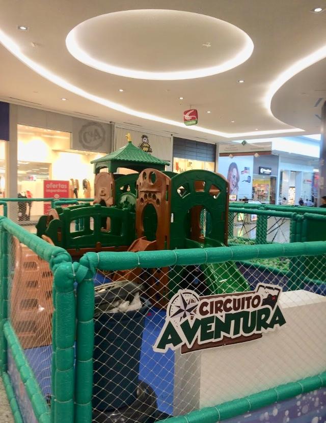 Safari Infantil é Atração No Shopping Garten
