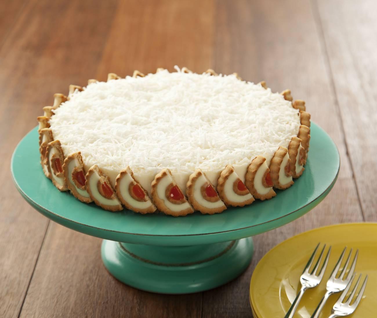 Dia Dos Namorados Em Casa: Torta Manjar Com Tortinhas Cheesecake