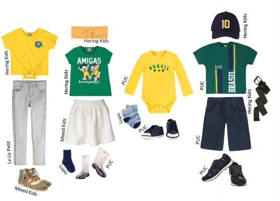 Ideias de looks para a Copa do Mundo