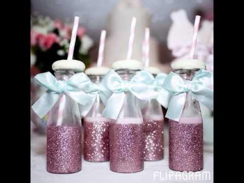 aniversário bailarina lembrança glitter
