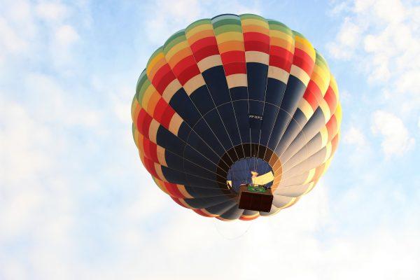Boituva - dia das maes - passeio de balão