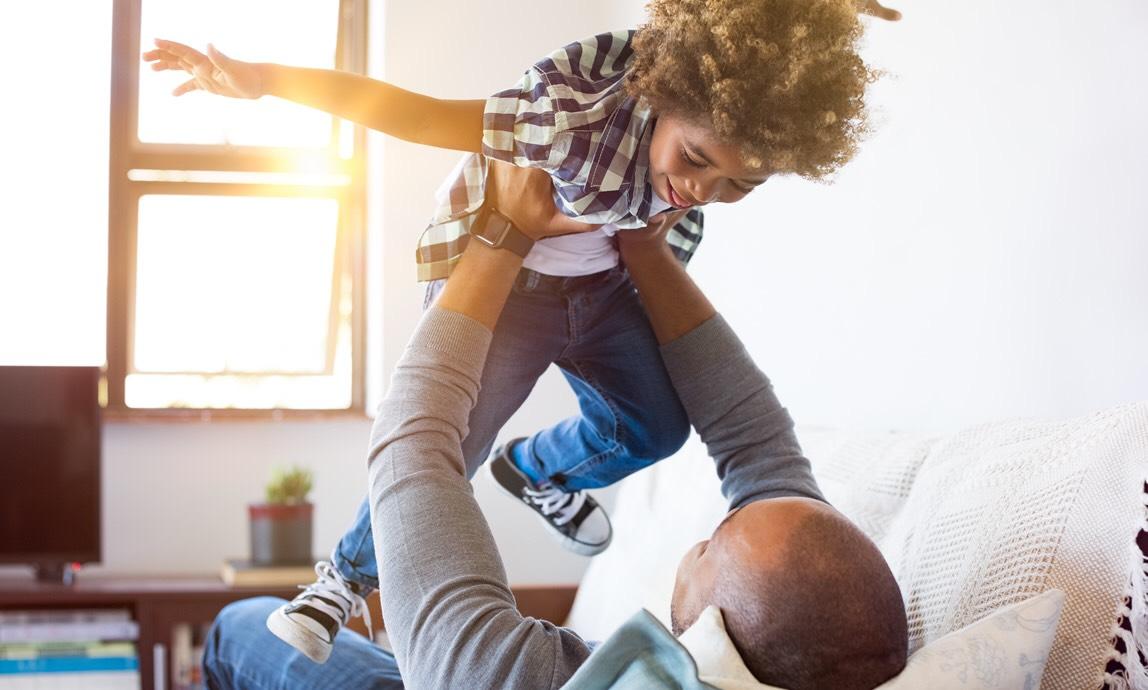 Conexão Entre Pais E Filhos