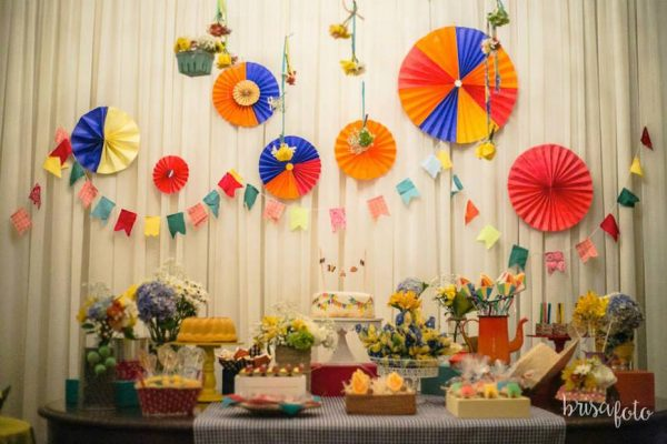 decoração festa junina aniversario