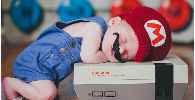 newborn geek
