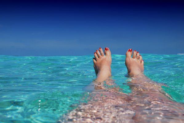 mudanças na gravidez - pés inchados