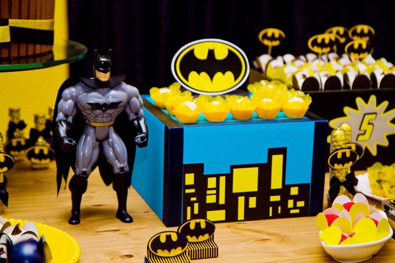 Aniversário Batman – Os Meninos Vão Amar Essa Decoração