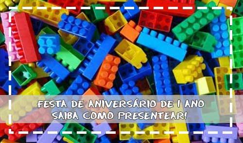 Festa De Aniversário De 1 Ano, Saiba Como Presentear!